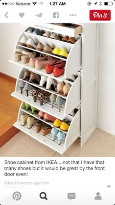 HEMNES Shoe cabinet with 2 compartments black-brown 2019 ikea shoe drawers Hemnes collection. how did i not know this existed? @ DIY Home The post HEMNES Shoe cabinet with 2 compartments black-brown 2019 appeared first on Storage ideas. Shoe Drawer, Jewelry Drawer, Jewelry Storage, Diy Casa, Ideas Para Organizar, Home Organization, Organizing Shoes, Organizing Ideas, Shoe Shelves