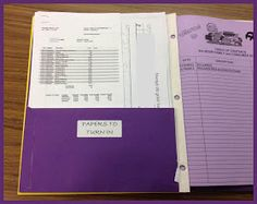 FACS Classroom Ideas: Folders vs Binders