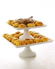 "See the ""Ham and Cheese Mini Croissants"" in our Baby Shower Appetizer Recipes gallery - Martha Stewart.com"