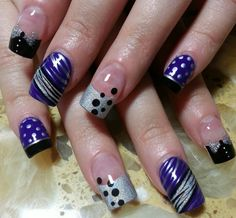 Purples-like the designs but not the length