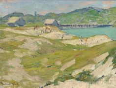 Gertrude Fiske, Ogunquit, Oil