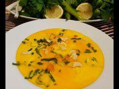 Ciorba Radauteana Super asa cum o fac eu - Traditional Romanian Chicken Soup Food Stations, Chicken Soup, Thai Red Curry, Greek, Traditional, Ethnic Recipes, Greece, Restaurants, Chicken Soups