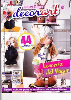 Revista para el hogar- Muñecas para el hogar.