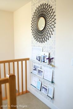 sarah m. dorsey designs: Moorish Insprired Wall and Frame Shelves