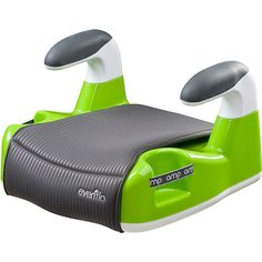 GREEN Booster Car Seat Evenflo No Back New free shipping #Evenflo