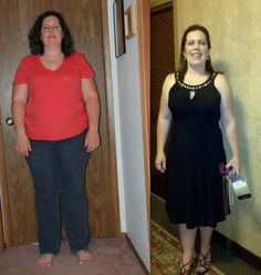 Amy at 73 pounds lighter