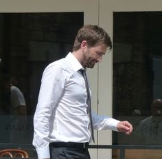 #Broadchurch 3 Filming — Alec Hardy looking rather yummy on a very humid day in Bristol and surrounding area! — Photos: hqbirds.com (Not sure if this is a personal website or a fancy photoblog site - Either way, they've been posted into the public domain)