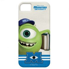 Mike Holding Books iPhone 5 Case $42.95 Iphone 4 Cases, Iphone 11, Apple Iphone, Phone Case, Mike Wazowski, Cartoon Monsters, Monster University, Monster Design, Shopping Sites