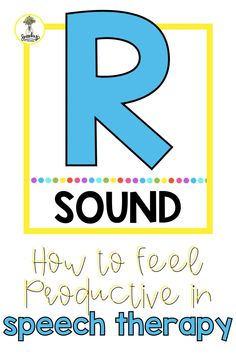 Always feel productive when treating R in speech therapy with these tips. Teaching R doesn't have to be hard! Articulation Therapy, Therapy Worksheets, Therapy Games, Articulation Activities, Speech Therapy Activities, Play Based Learning, Blended Learning, Preschool Special Education, Speech Room