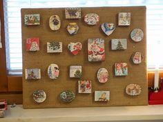 Joulukalenteri Christmas Calendar Advent DIY