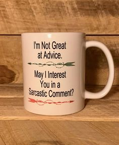 funny mug coffee mugs funny coffee cups gift for friend funny gift ideas mugs with sayings funny mugs with sayings funny coffee cup mugs by mugsbymockingbird on Etsy Funny Coffee Cups, Cute Coffee Mugs, Funny Mugs, Cute Gifts, Funny Gifts, Cute Quotes, Funny Sayings, Birthday Gag Gifts, Love You Mom