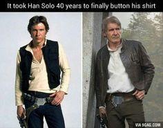 Star Wars, Han Solo humor