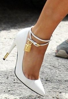 Tom Ford padlock pumps ♥✤ | Keep the Glamour | BeStayBeautiful