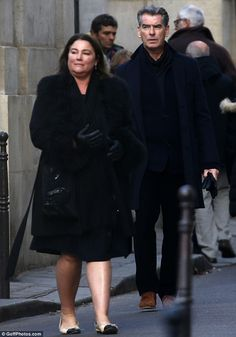 Picasso in Paris! Pierce Brosnan and wife Keely Shaye Smith indulged in some culture as they enjoy a festive break in the city of lights