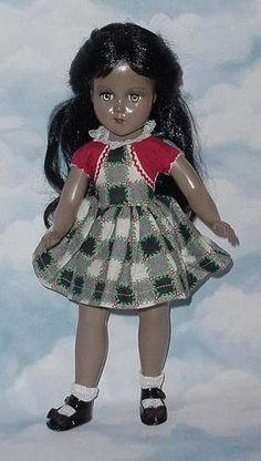 ~ Beautiful Hard Plastic 'Erranbee' Doll ~ (1950's)
