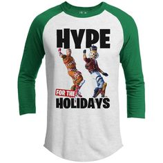 0042e948 FORTNITE HYPE FOR THE HOLIDAYS Premium Youth Christmas Raglan Youth, Young  Man
