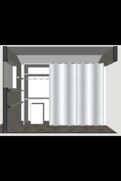 Mud room elevation 3