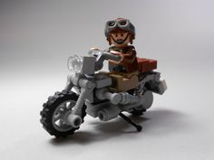 LEGO TUTORIAL | How to Build a WW2 era Motorcycle
