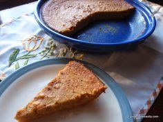 Crustless Sweet Potato Pie - gluten-free, dairy-free