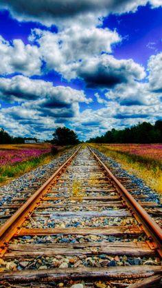 Train tracks source Flickr.com