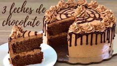 Chocolate Cake Video, Chocolate Cake Designs, Chocolate Decorations, Chocolate Ganache, Pumpkin Cheesecake Bars, Mexican Dessert Recipes, Nutella Cake, Sweet Bakery, Moist Cakes