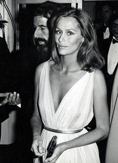 Lauren Hutton, April 1975, by Ron Galella