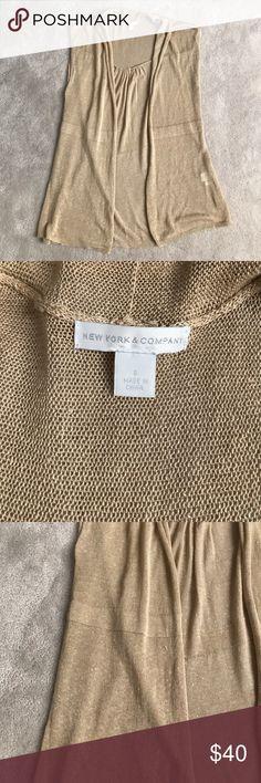 New York & Company linen blend top S NWOT New York & Company Tops Tunics