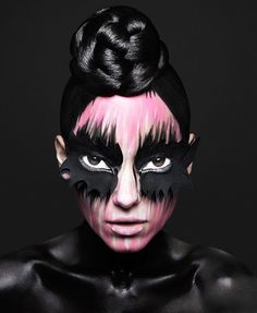 Gorgeous Avant Garde makeup