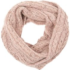 Accessorize Cable Snood (215 EGP) ❤ liked on Polyvore featuring accessories, scarves, oblong scarves, cable knit scarves, long shawl, long scarves and alpaca scarves