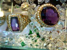 Amethyst Gold Rings