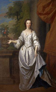 """Elizabeth Cunyngham"", Allan Ramsay, ca. 1740; National Gallery of Scotland NG 2133"