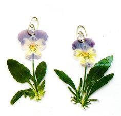 veronica guiduzzi, orecchini fiori sottoplastica, 2012