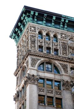 I could gaze at the magnificent facades of NYC Architecture any day.