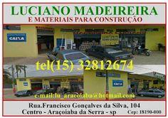 LUCIANO  MADEIREIRA   MATERIAIS PARA CONSTRUÇÃO