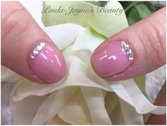 Shellac mani for lovely Kerstin.  Colour Blush Teddy with Swarovski Crystals.   New clients receive 15% OFF first treatment   Gift Vouchers and Loyalty Cards are available   For all available treatments please visit my website www.paula-jaynesbeauty.co.uk  To book an appointment please contact me via fb or Tel/Txt 07846 504675