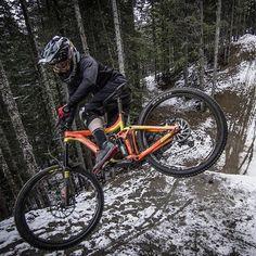 Cold Mountain Hot Orange . Featured on @whistlerbikeprk Photo: @markmackayphoto   Rider: @tristan_merrick . #InTheZone #WhistlerMountainBikePark #mountainbike #mountainbiking #santacruzbicycles #downhill #rockshox #btt #shimano #santacruz #bmx #mountainbiker #singletrack #mtblife #freeride #santacruzbronson #sram #5010 #gopro #mucoff #sicklines #dhrider #lovemtb #yeticycles #pedal #downhillmtb #allmauntainstyle #ride100percent #mtbride #enduromtb
