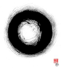 Zen Circle Three Painting