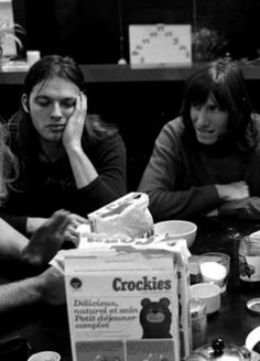 David Gilmour and Roger Waters, Pink Floyd