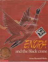 25 - Enora and the black crane by Arone Raymond Meeks