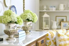 decoratingwith hydrangias | Decorating With Hydrangeas | Things I love