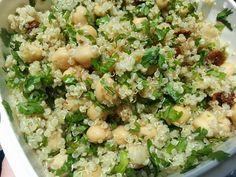 Vegspiration - Blog de inspiración vegana: Ensalada proteica de garbanzos y quinoa