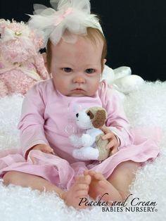 "PEACHES AND CREAM ~ NEW RELEASE Bonnie Brown ""Sharlamae"" Now Reborn Baby Laura | eBay"