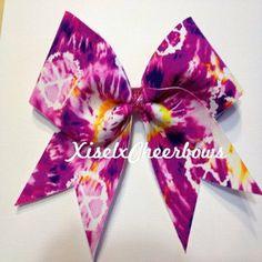 3 inch custom cheer bows