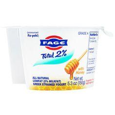Fage Greek Yogurt- Honey delicious!