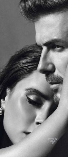 Victoria and David Beckham by Inez&Vinoodh
