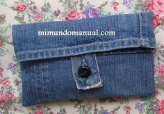 Mimundomanual: Manualidades:como reciclar jeans viejos: