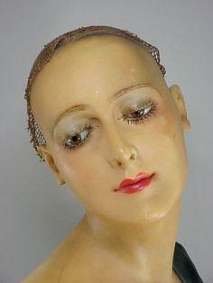Pierre Imans 1920s ART DECO wax  Mannequin.