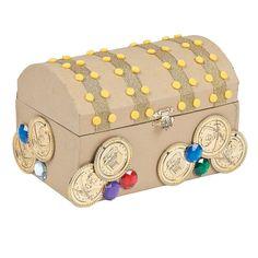 Treasure Chest Craft Kit - OrientalTrading.com
