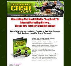 Continuity Cash Secrets