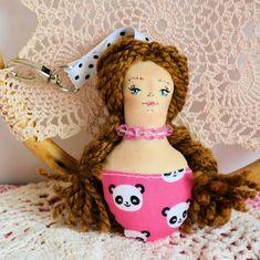 Brelok - Panna Ścinka - ręcznie malowana ( 4 ) Panda, Christmas Ornaments, Holiday Decor, Jewelry, Xmas Ornaments, Jewellery Making, Jewerly, Jewelery, Christmas Jewelry